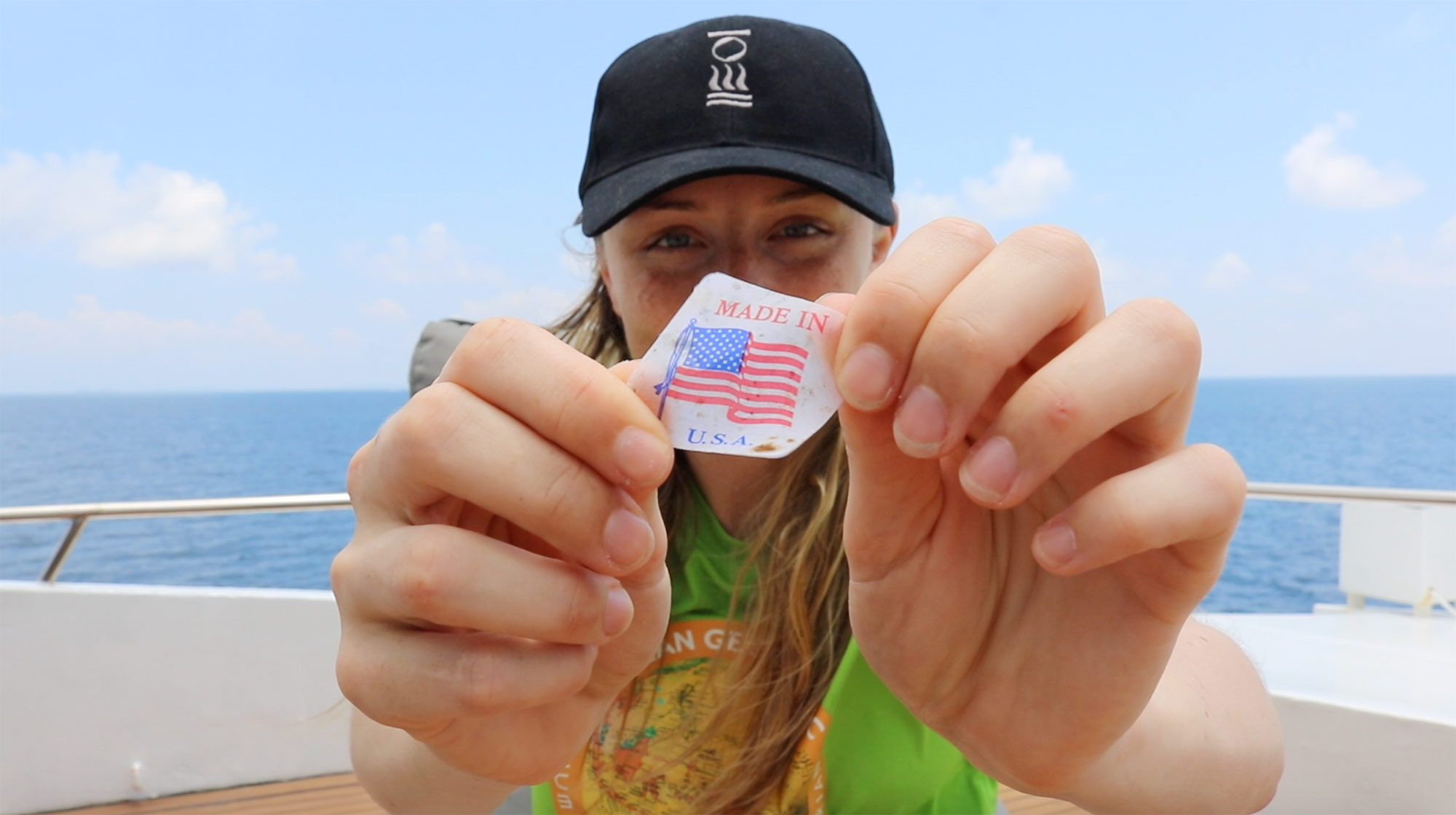 Charlotte with Made in USA Label