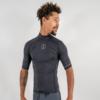 Short sleeve Hydroskin Rashguard, eco-friendly, sustainable, recycled polyester