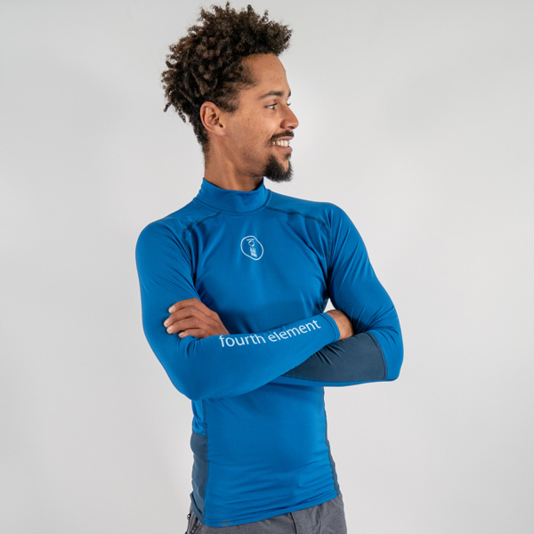 Long sleeve Hydroskin Rashguard, eco-friendly, sustainable, recycled polyester