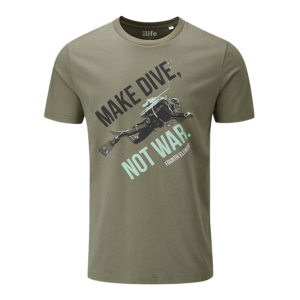 Dive Not War T-shirt