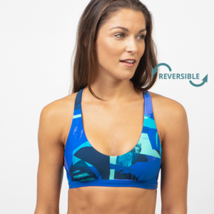Tiger Reversible Bikini Top