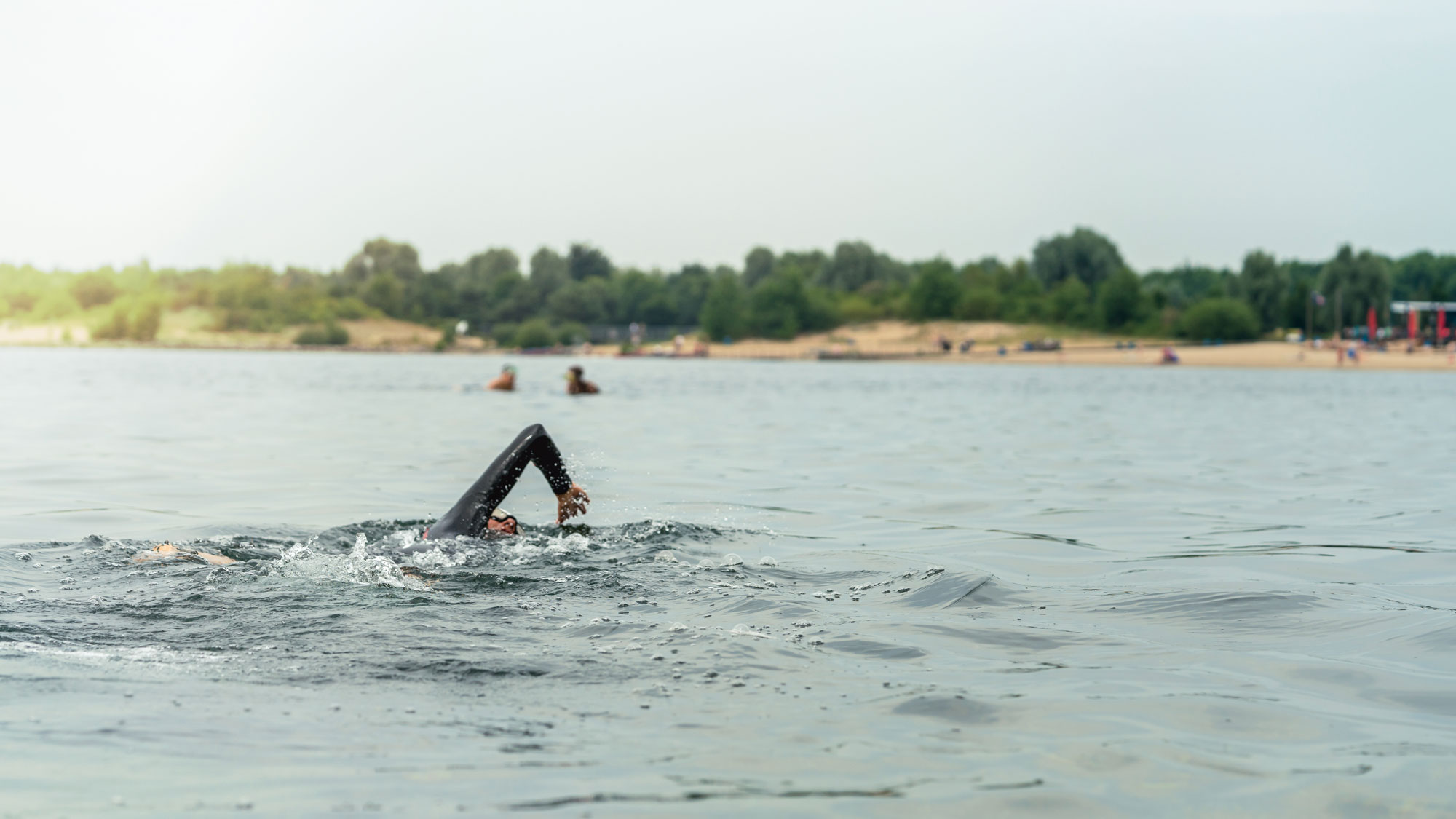 outdoor swimming, ocean, river, lake, cold water