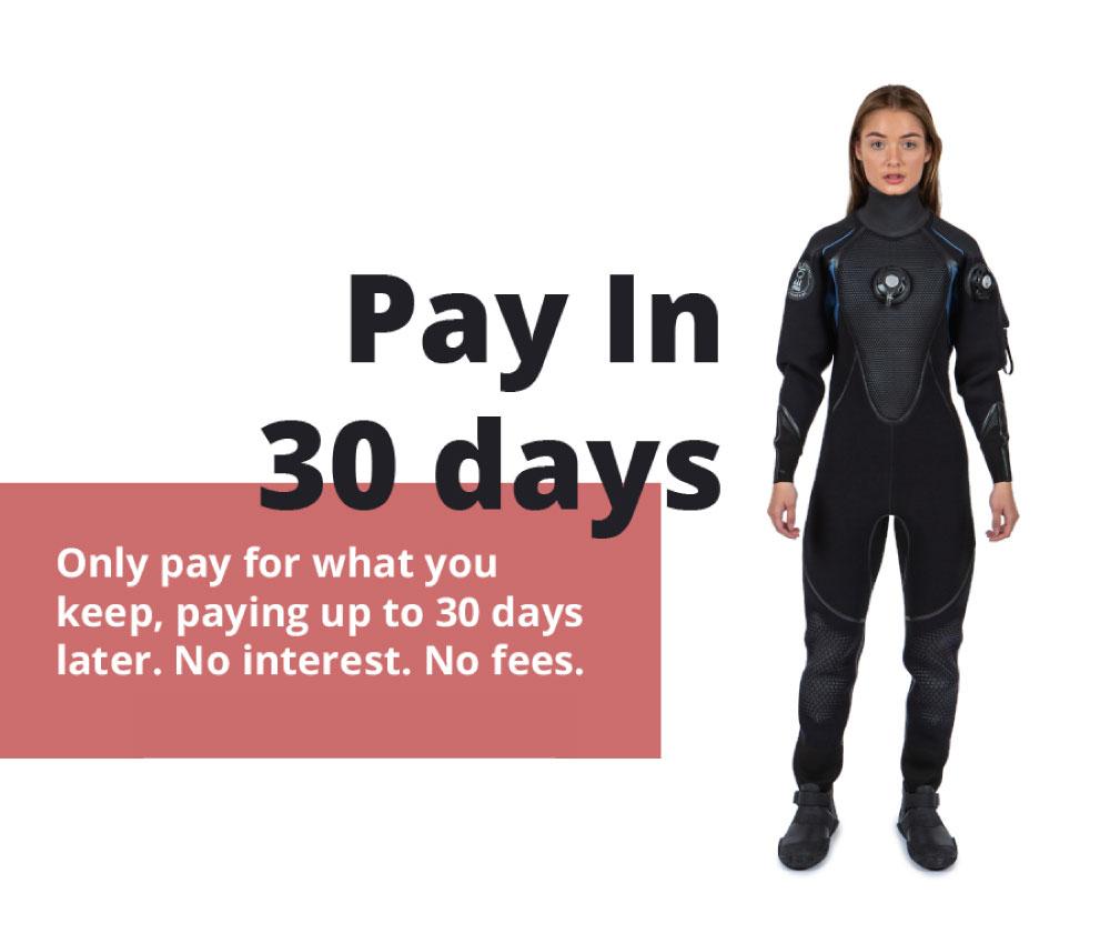 Klarna, pay in 30 days