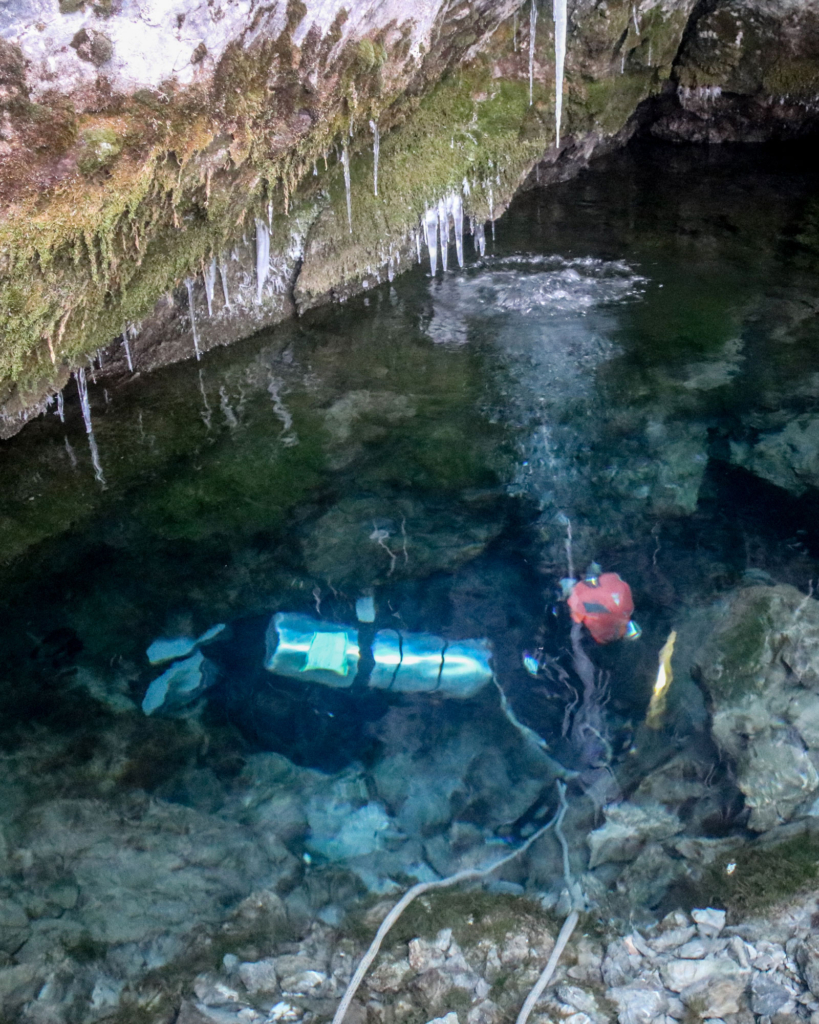 Cave Diving Tom Crisp